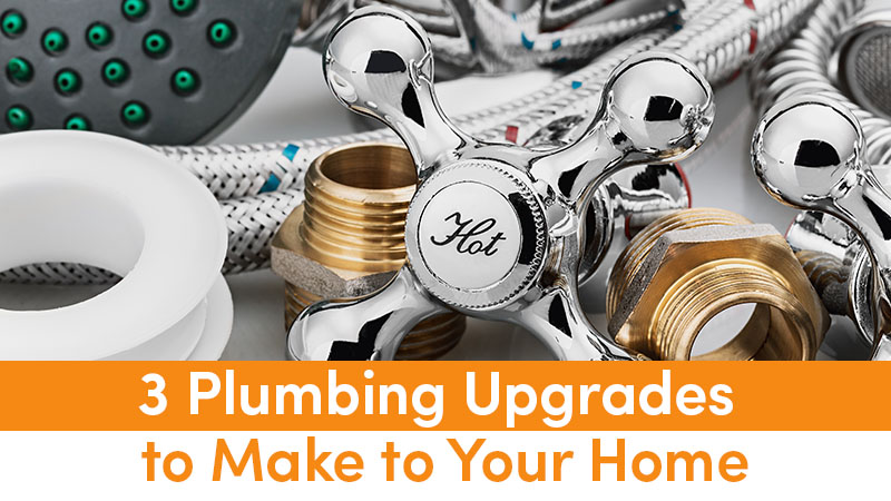 3 Plumbing Upgrades to Make to Your Home